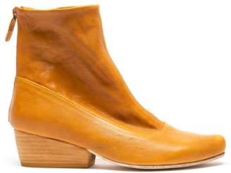 Tracey Neuls - ARLINDA Cumin | Ochre Leather Zip Boots - 41