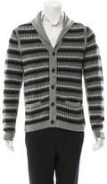 Rag & Bone Patterned Shawl Collar Cardigan