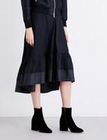 3.1 Phillip Lim Ruffled-hem cotton skirt