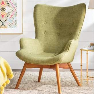 Langley StreetTM Canyon Vista Lounge Chair Langley Street Upholstery Color: Green