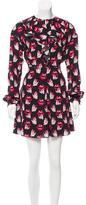 Giamba Graphic Print Mini Dress w/ Tags