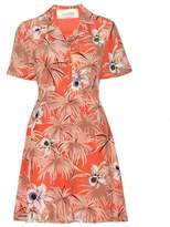 Valentino mytheresa.com online exclusive printed silk dress
