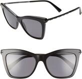 Valentino 54mm Polarized Cat Eye Sunglasses