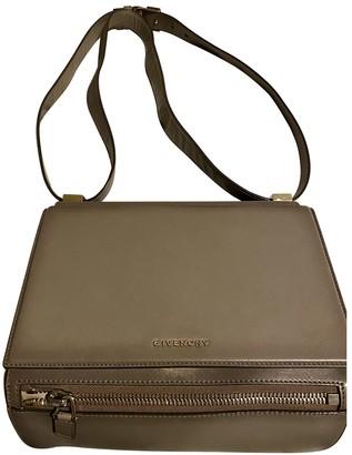 Givenchy Pandora Box Grey Leather Handbags