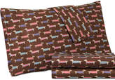 Shavel Micro Flannel Printed Queen 4-pc Sheet Set