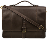 Hidesign Maverick Leather Briefcase, Brown