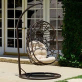 Bay Isle Home Duncombe Egg-Shaped Outdoor Swing Chair with Stand