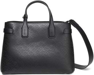 Burberry Perforated Leather Shoulder Bag