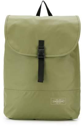 Eastpak buckled flap backpack