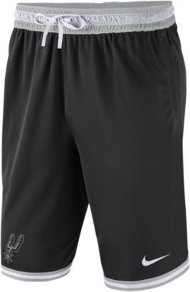 Nike NBA DNA Mesh Shorts - San Antonio Spurs - Black / Flint Silver White