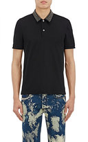 "Gucci Men's ""L'Aveugle Par Amour"" Cotton-Blend Polo Shirt"