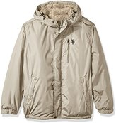 U.S. Polo Assn. Men's Hooded Windbreaker Jacket