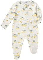Angel Dear Cow-Print Zip Footie Pajamas, Size 0-9 Months
