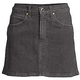 KHAITE Women's Dolly Denim Mini Skirt