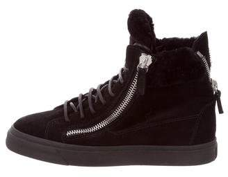 Giuseppe Zanotti London High-Top Sneakers