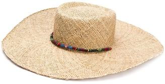 Ruslan Baginskiy Wide Brim Straw Hat