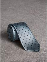 Burberry Modern Cut Polka-dot Silk Tie