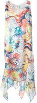Tsumori Chisato floral print asymmetric dress