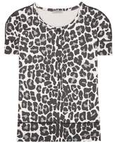 Bottega Veneta Printed cotton-blend top