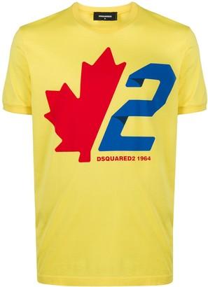 DSQUARED2 Maple Leaf slim-fit T-shirt