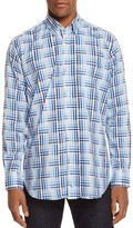 Tailorbyrd Great Basin Check Classic Fit Button-Down Shirt