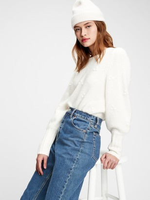Gap Puff-Sleeve Sweater