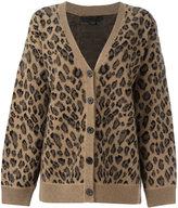 Alexander Wang leopard print cardigan