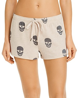 PJ Salvage Peachy Dreams Skull Printed Shorts - 100% Exclusive