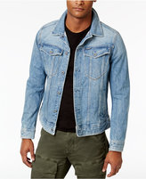 G Star Men's 3301 Slim-Fit Deconstructed 3D Denim Jacket