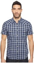 Lucky Brand Short Sleeve Western Shirt Men's T Shirt