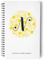 Minted Garden In The Round Day Planner, Notebook, or Address Book