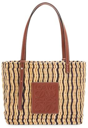 Loewe Square Leather Basket Bag
