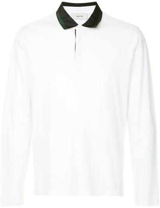 Cerruti Satin Collar Polo Shirt