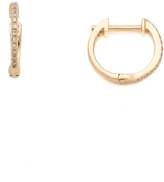 Ariel Gordon Jewelry Pave Diamond Huggie Earrings