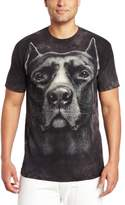 The Mountain Men's Pitbull Head T-Shirt