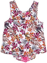 Splendid Girls' Tropical Print Tank