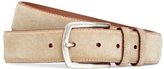 Brooks Brothers Edge Painted Suede Belt