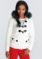 Delia's Sherpa Lined Fleece Coat