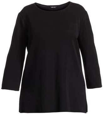 Misook, Plus Size Three-Quarter Sleeve Tunic