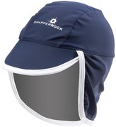 Snapper Rock Infant Navy Flap Hat 8155126