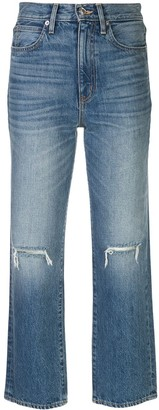 SLVRLAKE High Rise Cropped Jeans