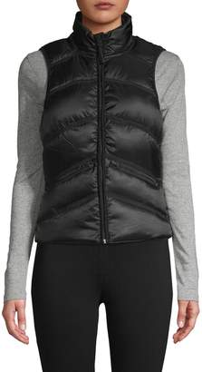 Blanc Noir Quilted Down-Filled Vest
