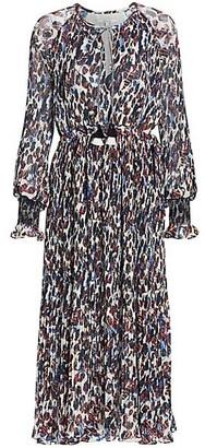 Derek Lam 10 Crosby Nemea Floral Pleated Dress