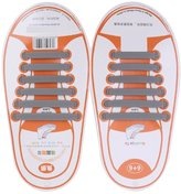 Generic Kids No Tie Elastic Silicone Shoelaces