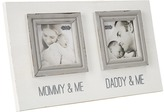Mud Pie Mommy Daddy Double Frame Accessories Travel