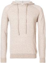 Aspesi fitted hooded sweatshirt