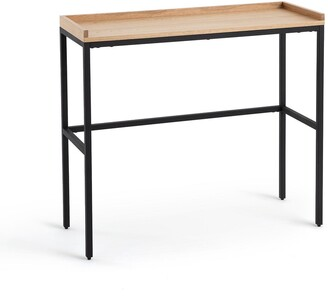 La Redoute Interieurs Volga Oak & Metal Console Table