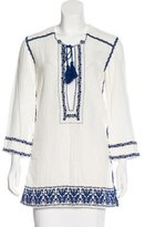 Etoile Isabel Marant Embroidered Tunic Top