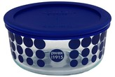 Pyrex 100 Year Decorated Storage 4 Cup - Blue