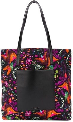 Paul Smith Earthling Floral print shoulder bag